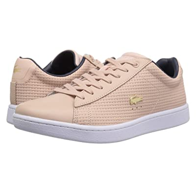Lacoste Carnaby Evo 118 5 SPW (Natural/Navy) Women