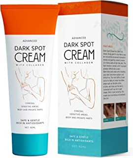 Natural Vine Underarm Cream, Dark Spot Cream, Instant Result, Brighten & Moisturizes Armpit, Neck, Knees, Private Parts(60ML)