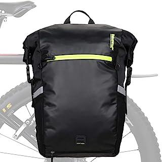 Rhinowalk Multifunction 24L Bike Pannier Bag Waterproof Bicycle Rear Seat Bag Laptop Backpack...