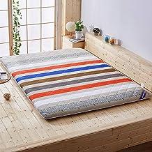 Futon Mattress, 5cm Foldable Non-Slip Breathable Single/Double Mattress for Student Dorm, Bedroom and Office,C,120 * 200cm...