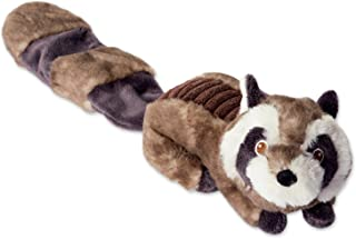 DII Bone Dry Crinkle Noise, Squeaking Plush Body Dog Toy, 1 Piece Sophie Raccoon Woodland Friends Pet Toy for Small, Mediu...
