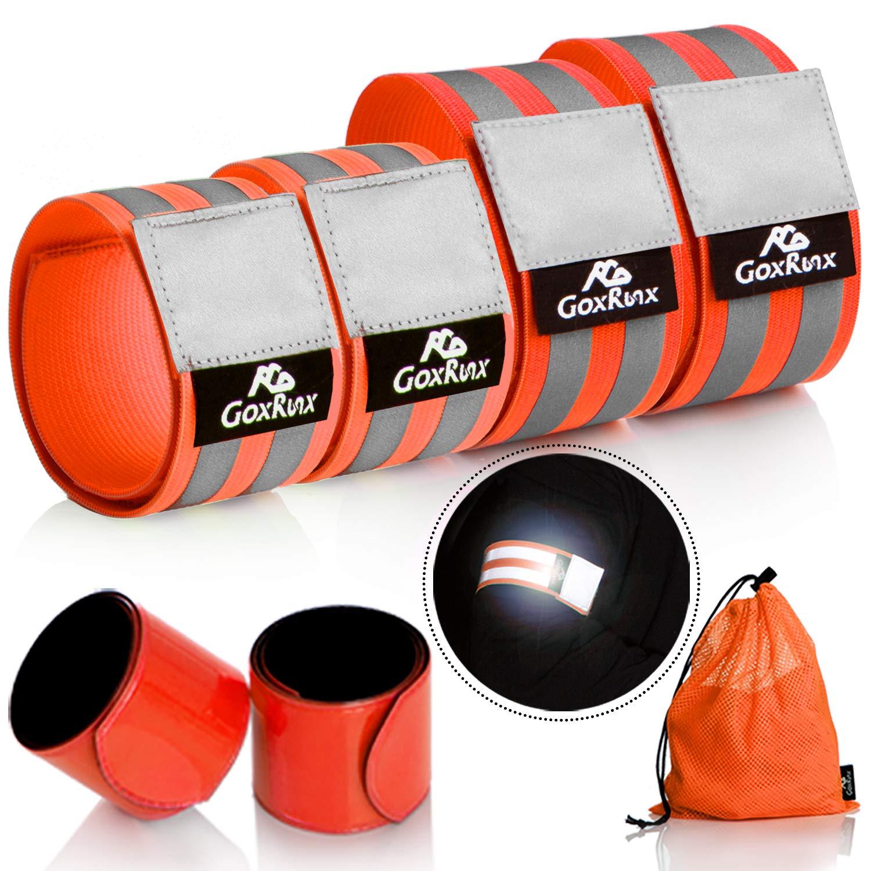 GoxRunx Reflective Visibility Reflectors Bracelets