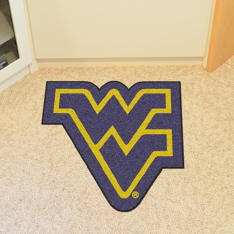 Fanmats Sports Team Logo West Virginia University Mascot Mat approx 36 x36