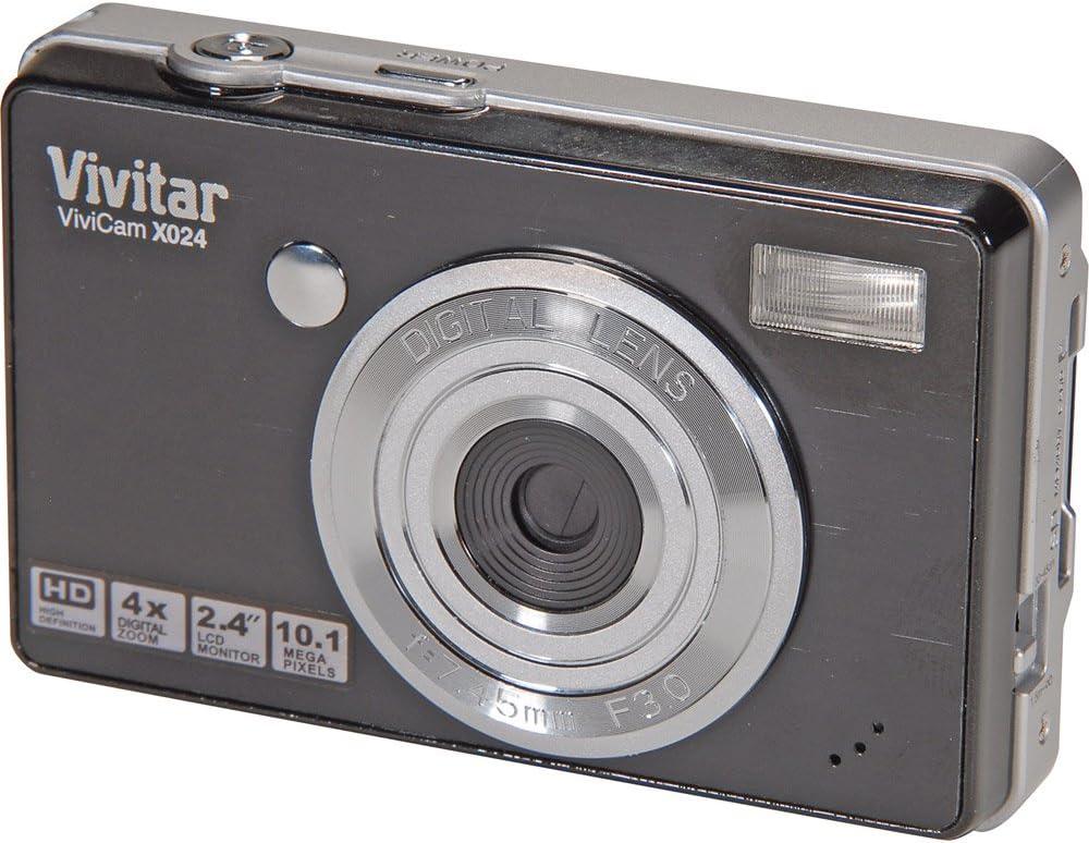 Vivitar ViviCam X024 10.1MP New popularity Camera Black Digital Popular brand in the world