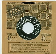 Jim, Johnny And Jonas | Farewell - Bing Crosby (Decca Records 1955) Near-Mint - Vintage 45 RPM Vinyl Record