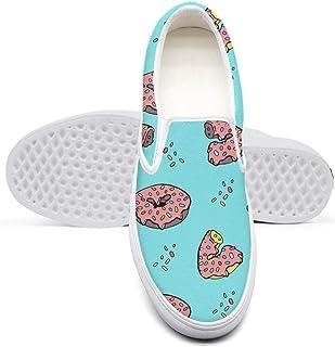 Unicorns Donuts Rainbow Confetti Women's Athletic Sneakers Designer Retro Shoes