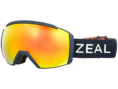 Zeal Optics Hemisphere (Picasso w/ Phoenix Mirror) Goggles