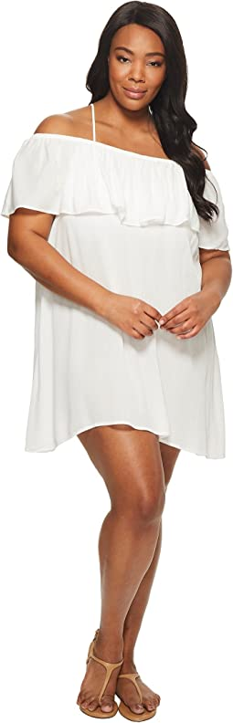 BECCA by Rebecca Virtue Plus Size Modern Muse Dress Cover-Up