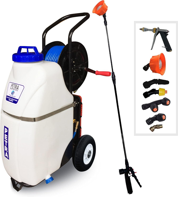 PetraTools Battery Powered 12 Gallon - OFFicial shop Beast Sprayer Dedication Heavy Cart