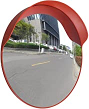 Outdoor Road Traffic Convex PC Mirror Safety & Security, Wide Angle Driveway, 24