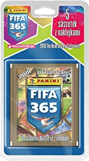 Panini France FIFA 2327-020 365 2018 Blister Packaging 5 Pockets