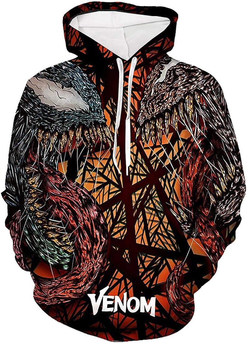 Imilan Women's Novelty Hoodie Pullover depot Milwaukee Mall 3D Sweatshirts Dig Unisex