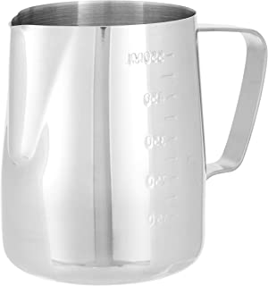 GRACE KITCHEN Measuring Frothing Pitcher Milk Jug, 20oz, Stainless Steel