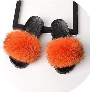 Surprise S Women Slides Home Furry Flat Sandals Female Cute Fluffy House Shoes Woman