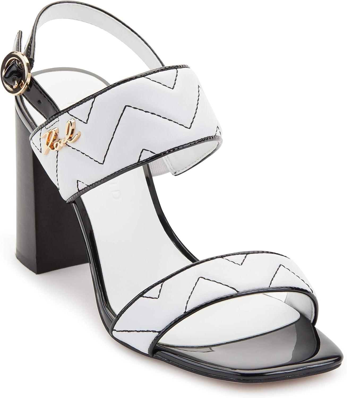 Karl Lagerfeld Paris Women's Radina Heeled Sandal Challenge the lowest price of Japan Sales