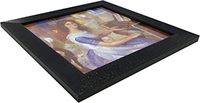 Gallery99 Ladies On Piano with Glass and Frame (10 inch x 10 inch)