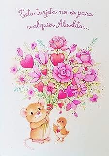 Es Para La Abuelita Mas Especial - Feliz Dia de las Madres - Happy Mother's Day Greeting Card for Grandma in Spanish Espanol