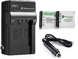 Powerextra EN-EL19 batteries + Charger Compatible with Nikon A100, Coolpix S33, S100, S3200, S3300, S3500, S3600, S4100, S4200, S4300, S5200, S5300, S6500, S6600 S6800 S6900 S7000, Sony NP-BJ1 DSC-RX0
