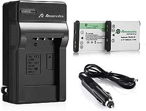 Powerextra EN-EL19 Batteries & Charger Compatible with Nikon A100, Coolpix W150, S33, S100, S3200, S3500, S3600, S4100, S4200, S4300, S5200, S5300, S6500, S6600 S6800 S6900 S7000, Sony NP-BJ1 DSC-RX0