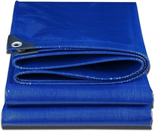 LJL Bache imperméable Bache Bleue pour des camions, bache imperméable à l'eau de bache imperméable à l'eau de bache imperméable Bache Robuste (Couleur   A, Taille   3 x 3m)