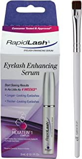 RapidLash - Rapid Lash Eyelash Enhancing Serum (with Hexatein 1 Complex) - 3 mL - Australian Version and Free Eyeliner Brush