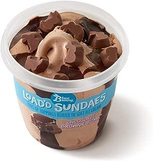 Blue Bunny Frozen Load'd Sundaes Ice Cream Cup, Chocolate Brownie Bomb, 8.5 Ounces