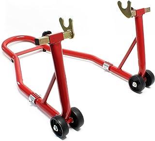 Soporte de la motocicleta para el soporte de la rueda trasera
