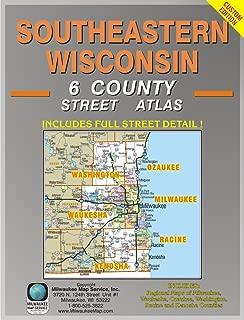 Southeastern Wisconsin 6 County Street Atlas
