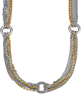 Esprit Alliance Gold ESNL91940B430 Cubic Zirconia 46 centimetres 28.0 grams Sterling Silver 925 Chain