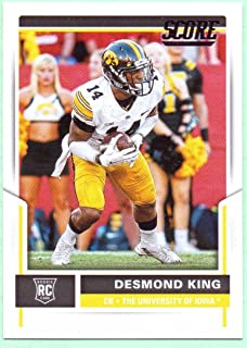 Desmond King 2017 Score Rookie #354 - Los Angeles Chargers