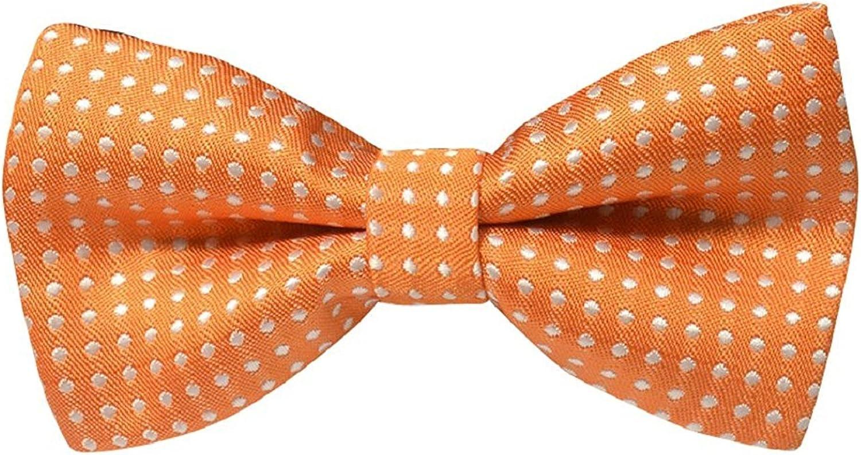 Bodhi2000 Bambino I bambini Dots Bowtie cravatta legame di arco regolabile