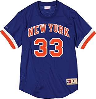 Mitchell & Ness Patrick Ewing New York Knicks #33 NBA Name and Number Mesh Jersey