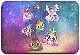 Soft Non-slip Silly Whacky Fun Poop Emoji Land Bath Mat Coral Rug Door Mat Entrance Rug Floor Mats For Front Outside Doors...