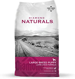 Diamond Naturals Dry Food for Puppy, Large Breed Lamb and Rice Formula, 20 Pound Bag by Diamond Pet Foods