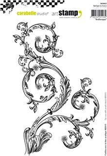 Carabelle Studio Cling Art, Arabesque, for Paper Craft Stamping Projects, Cardmaking and Scrapbooks, 14,8 x 21 cm