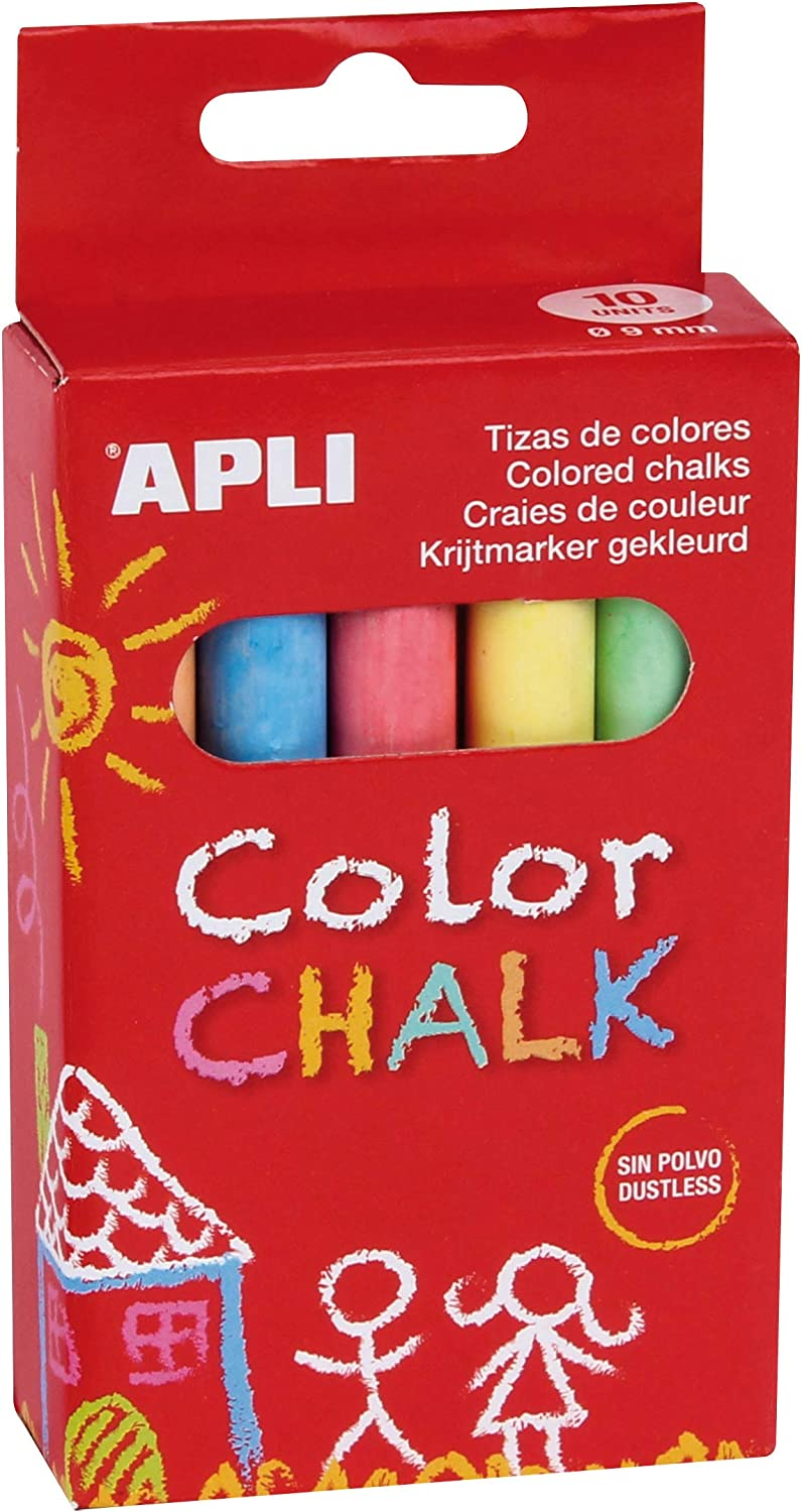 Apli 10 Assorted Colours Blue Orange 55% OFF Purple Indianapolis Mall Red Cha Green Yellow