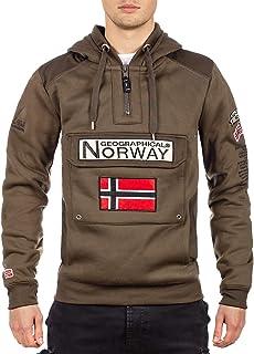 Geographical Norway - Felpa con cappuccio da uomo