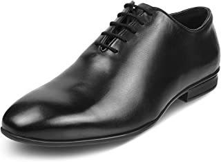 tresmode Mens Leather Oxfords Lace up Formal Shoes Mens Footwear   Made in India