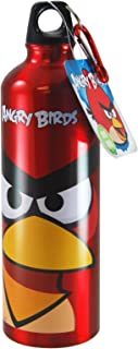 angry birds aluminum water bottle