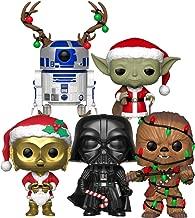 Funko Pop! Star Wars: Holiday Series Collectible Vinyl Figures, 3.75