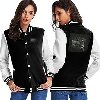 YHGZIWWS Snoop Dogg Baseball Uniform Jacket Unisex Coat Sweater Sweatshirt