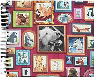 Recuerding - Album photo pour Chiens, 50 pages (27 × 24 cm) | Coller et écrire, personnalisable, Original, avec feuilles n...