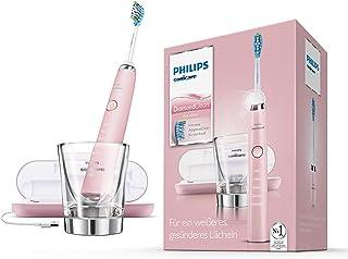 Philips 飞利浦 Sonicare 钻石清洁DiamondClean 新一代电动牙刷带声波技术HX hx9369 / 89 ,, 充电玻璃杯玻璃和 USB - 旅行充电盒子 , ,, 粉红色