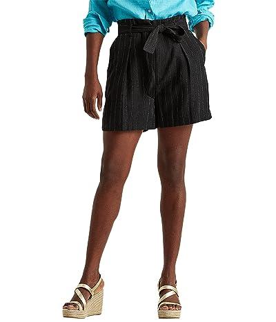 LAUREN Ralph Lauren Striped Linen Twill Shorts