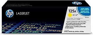 خرطوشة حبر 125a متوافقة مع طابعة اتش بي ليزر جيت، حبر اصفر Cb542a من اتش بي