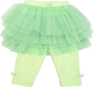 スカッツ 子ども服 チュパッツ7分丈 ひざ下 チュチュとスパッツの一体型 スカッツ スカート 女の子 通園服 通学着 ダンス衣装にも