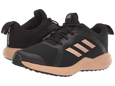 adidas Kids FortaRun X (Little Kid/Big Kid) (Black/Copper/White) Girls Shoes