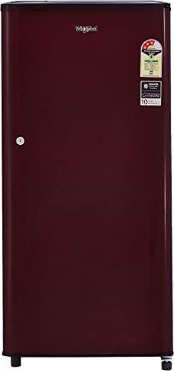 Whirlpool 190 L 3 Star Direct-Cool Single Door Refrigerator (WDE 205 CLS 3S, Wine) 1