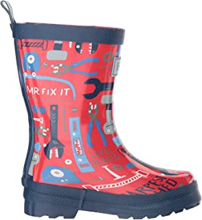 Printed Rain Boots - Botas de Agua Niños