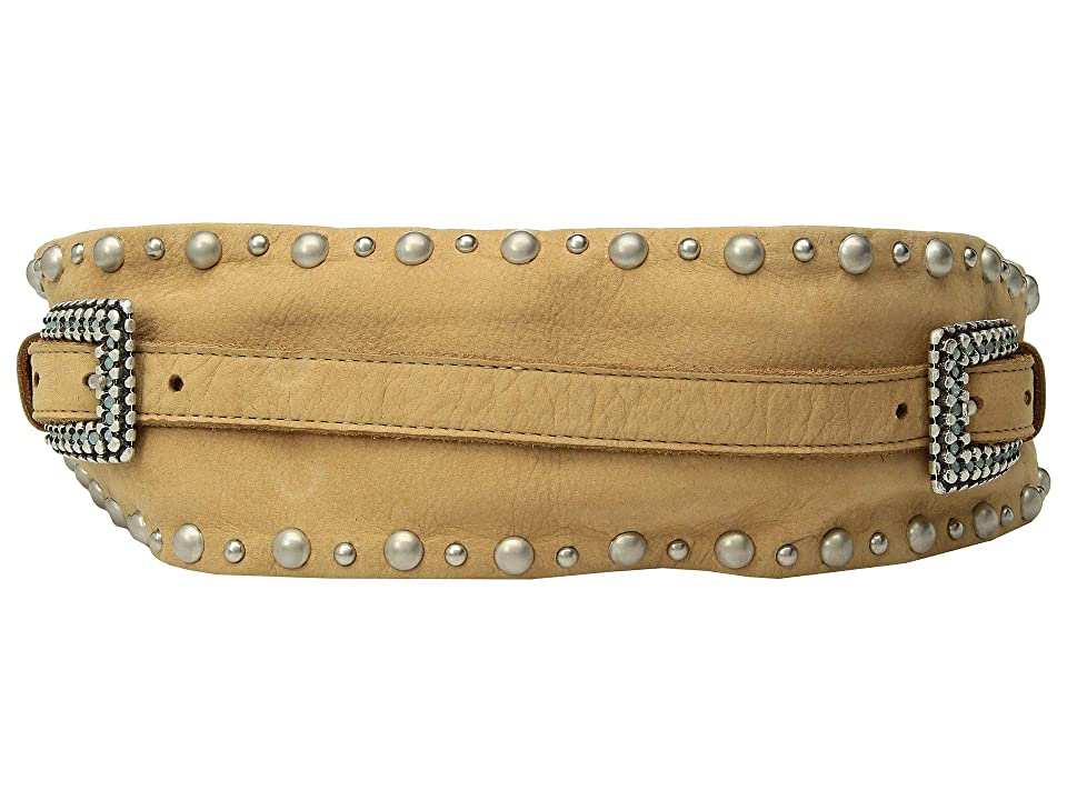 Leatherock Darla Belt (Dark Beige) Women